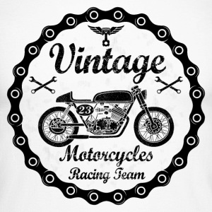 vintage motorcycles 04 Manches longues - T-shirt baseball manches longues Homme