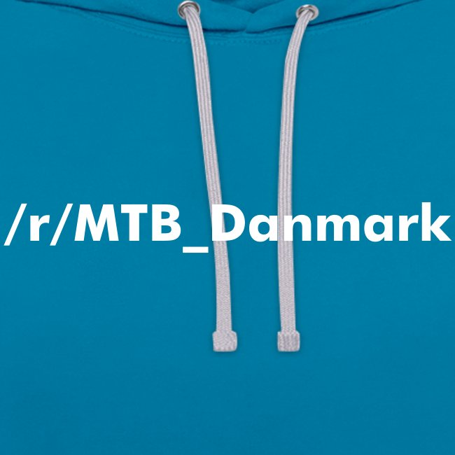Dame hoodie med text tryk