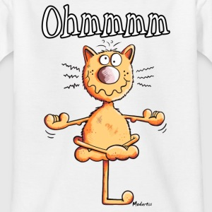 Ohmmmm Katze T-Shirts - Teenager T-Shirt