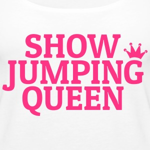 Show jumping queen Tops - Women's Premium Tank Top