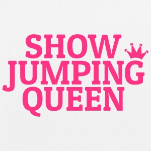 Show jumping queen Bags & Backpacks - EarthPositive Tote Bag