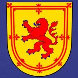scotland lion coat arms T-shirts - Herre premium T-shirt