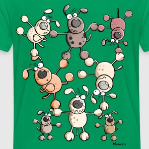 Dog Circus Shirts - Kids' Premium T-Shirt