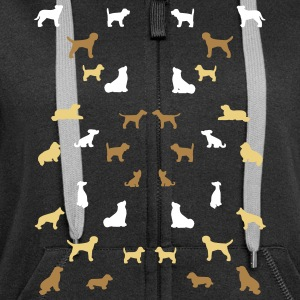 Balanced dogs Sweat-shirts - Veste à capuche Premium Femme