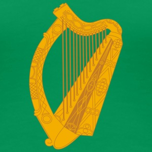 Ireland irish harp T-Shirts - Frauen Premium T-Shirt