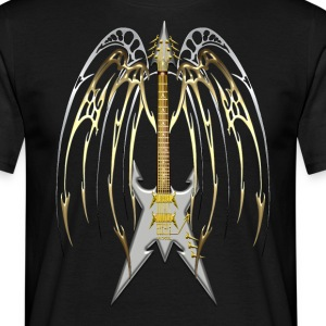 Heavy Metal Guitar - T-shirt Homme