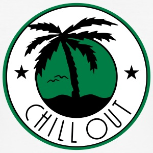 chill out_vec_3 fr Tee shirts - Tee shirt près du corps Homme