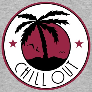 chill out kite_vec_3 fr Tee shirts - Tee shirt près du corps Homme
