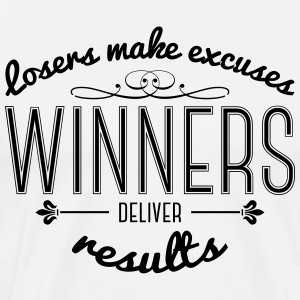 Winners Deliver Results T-Shirts - Men's Premium T-Shirt