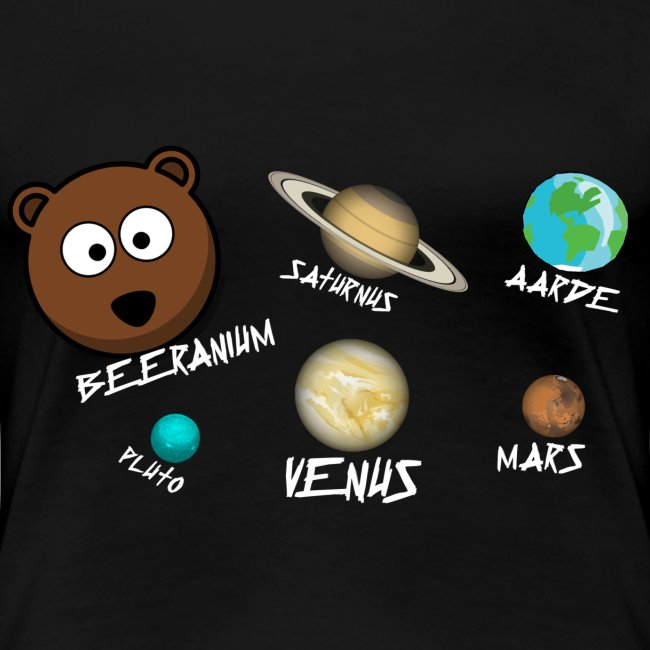 T-Shirt Beeranium Vrouw