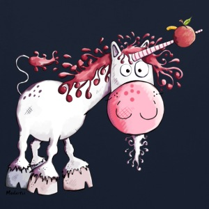 Drôle Licorne Sweat-shirts - Sweat-shirt contraste