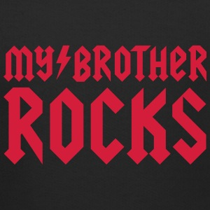 My brother rocks Hoodies - Kids' Premium Hoodie