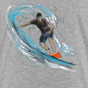 surfer Shirts - Teenage Premium T-Shirt