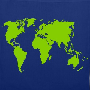 Earth, world map Bags & Backpacks - Tote Bag