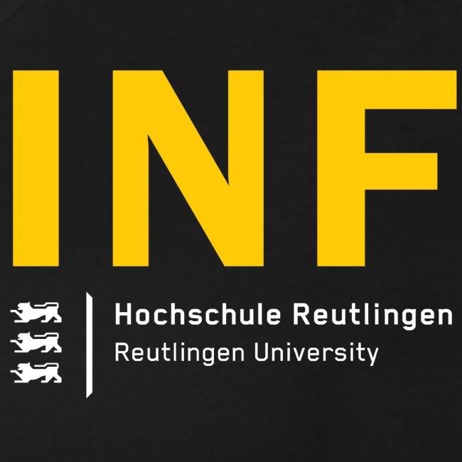 INF T-Shirt Frauen schwarz