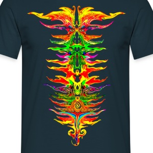 Color your life! colorful, party, music, rainbow T-Shirts - Men's T-Shirt