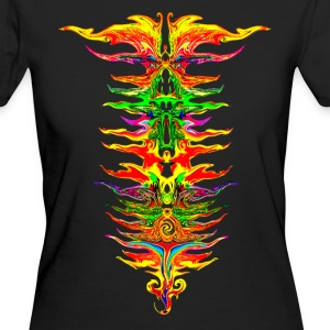 Color your life! colorful, party, music, rainbow Tee shirts - T-shirt Bio Femme