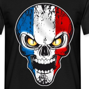 Skull France Tee shirts - T-shirt Homme