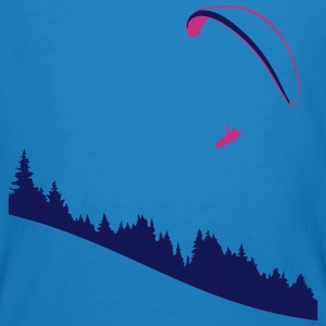 Organic paragliding XC fly - T-shirt bio Homme