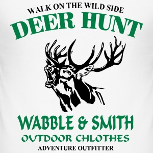Deer Hunt T-Shirts - Men's Slim Fit T-Shirt