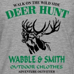 Deer Hunt Long sleeve shirts - Men's Premium Longsleeve Shirt