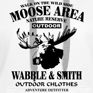 Moose Nature Reserve Hoodies & Sweatshirts - Women's Premium Hoodie