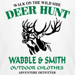 Deer Hunt T-shirts - Mannen Bio-T-shirt