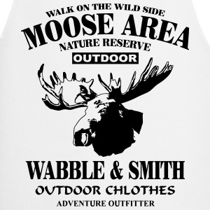 Moose Nature Reserve  Aprons - Cooking Apron