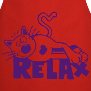 Relax Cat  Aprons - Cooking Apron