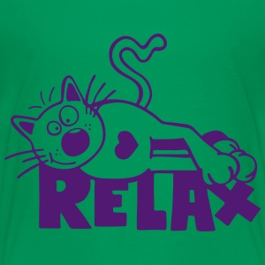 Relax Cat Shirts - Kids' Premium T-Shirt