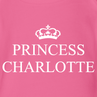 Design ~ Gin O'Clock Princess Charlotte Baby Vest - from the official Gin O'Clock shop.
