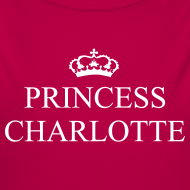 Design ~ Gin O'Clock Princess Charlotte Baby LS Vest - from the official Gin O'Clock shop.