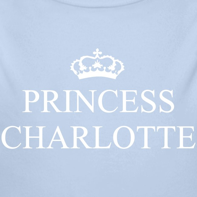Gin O'Clock Princess Charlotte Baby LS Vest - from the official Gin O'Clock shop.