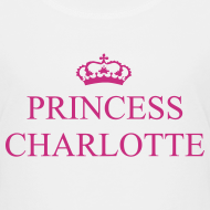 Design ~ Gin O'Clock Princess Charlotte Kids T-Shirt - from the official Gin O'Clock shop.
