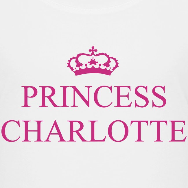 Gin O'Clock Princess Charlotte Kids T-Shirt - from the official Gin O'Clock shop.