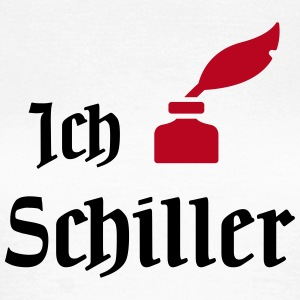 I Love Schiller T-Shirts - Frauen T-Shirt