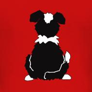 Motiv ~ Black Tri Australian Shepherd Motiv auf der Rückseite