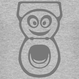 chiotte toilette wc smiley 0 Tee shirts - Tee shirt près du corps Homme