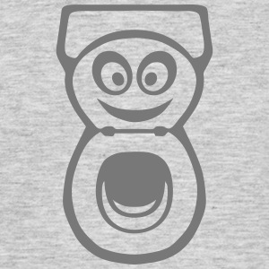 Latrine Toilette WC smiley 0 T-Shirts - Männer T-Shirt