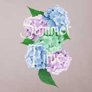 Ontwerp ~ Summer Time Floral decoration by patjila