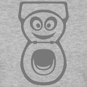 chiotte toilette wc smiley 0 Sweat-shirts - Sweat-shirt Homme