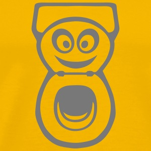 Chiotte toilet WC smiley 0 T-Shirts - Men's Premium T-Shirt