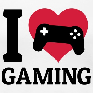 I love gaming T-Shirts - Frauen Premium T-Shirt