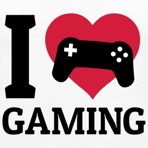 I love gaming Tops - Women's Premium Tank Top