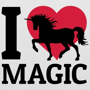I love Magic amo la magia Borse & zaini - Borsa di stoffa