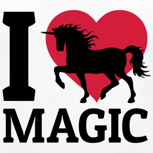 I love Magic ik hou van magic Tops - Vrouwen Premium tank top