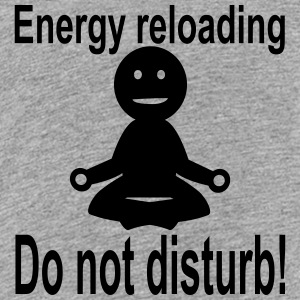 Yoga - Energy reloading T-Shirts - Teenager Premium T-Shirt
