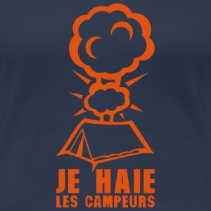 gamer je haie les campeurs tente explosi Tee shirts - T-shirt Premium Femme