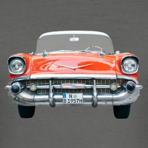 Chevy Bel Air Front T-Shirts - Männer Slim Fit T-Shirt