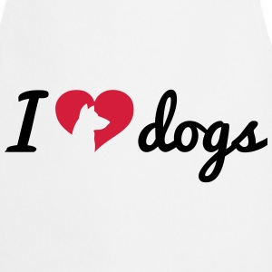 Fancy I Love Dogs  Aprons - Cooking Apron